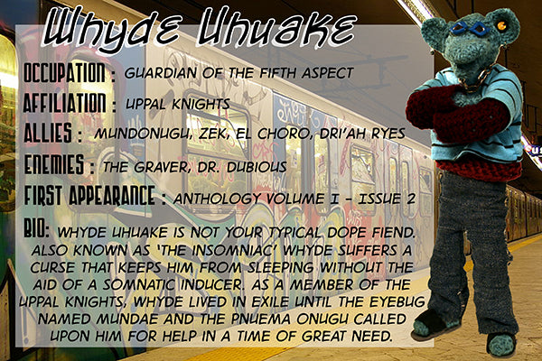 Whyde Uhuake - The Dope Fiends Comics Character