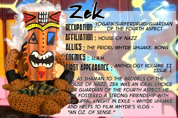 Zek - The Dope Fiends Comics Character