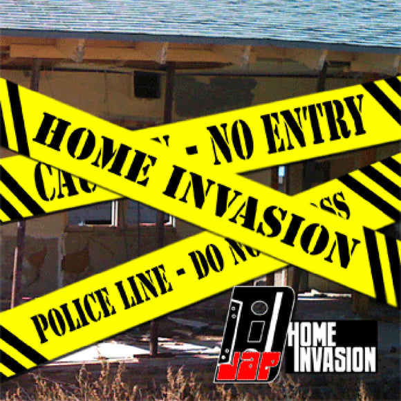 Home Invasion - Music CD by DJAP