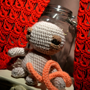 LG Weebus : Adorable Crocheted Fetus - OOAK Art Dolls
