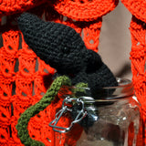 MED Weebus : Adorable Crocheted Fetus - OOAK Art Dolls