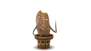 Adobe Character Animator Digital Action Figure - Chip