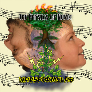 Waveformulas - Music CD by The Physics of Music