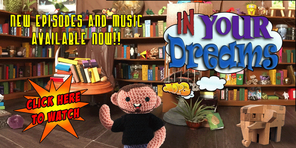 In Your Dreams original amigurumi animated web series