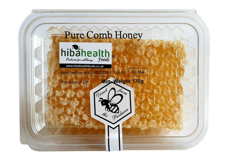 Raw Bedfordshire Pure Honeycomb