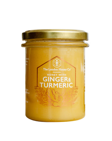 The London Honey Company Pure Honey with Turmeric and Ginger Hiba Health Foods