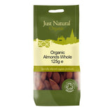 Just Natural Organic Almonds - 125g