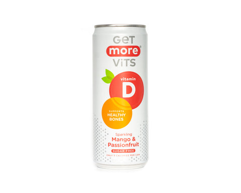 Get More Vits - Mango & Passionfruit Vitamin Drink - 330ml