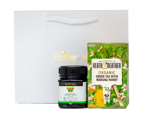 Manuka Honey and Tea Gift Set