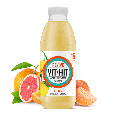 Vit Hit Revive - Citrus Ginseng & White Tea (500ml)