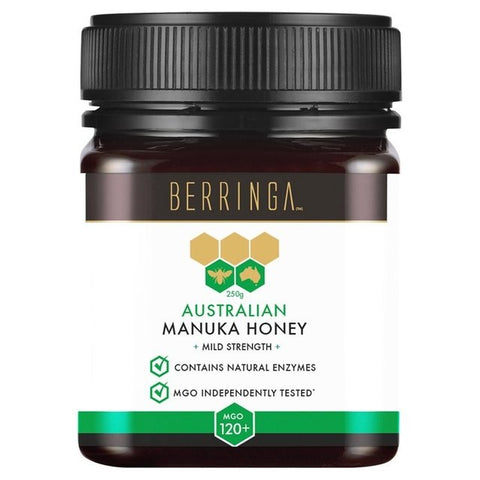 Berringa Manuka Honey mgo 120+ - Hiba Health Foods