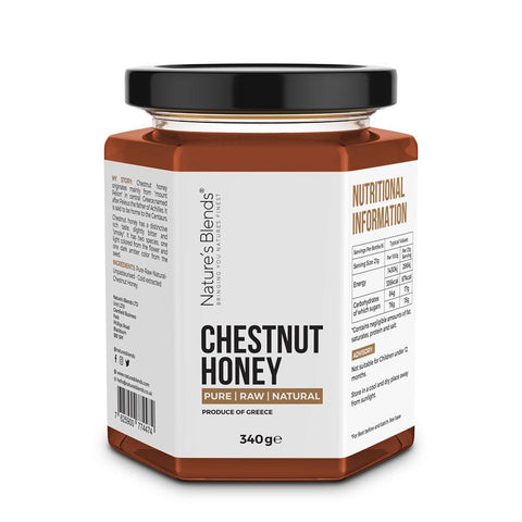 Chestnut Honey Hiba Health Foods