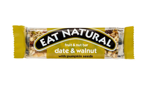 Eat Natural Bar - Date & Walnut with Pumpkin Seeds