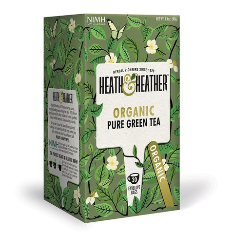 Organic Pure Green Tea - 20 Bags