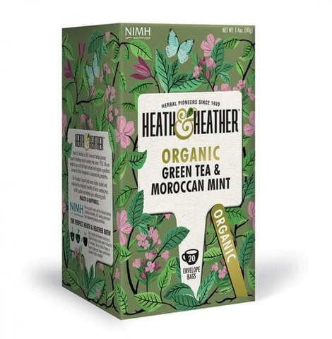 Organic Green Tea with Moroccan Mint - 20 bags