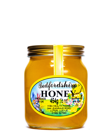 Raw Bedfordshire Honey 454g