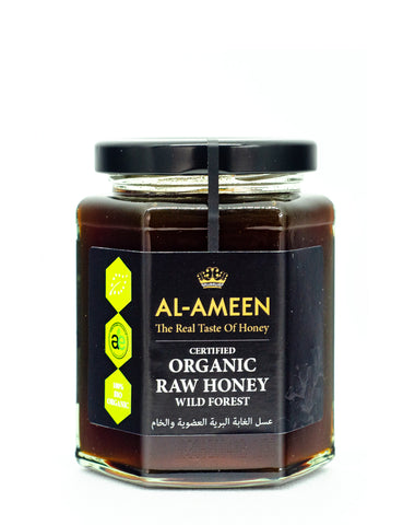 Al-Ameen Organic Raw Wild Forest Honey Hiba Health Foods