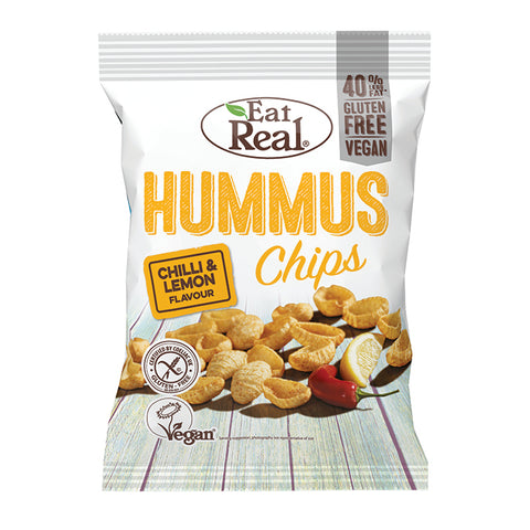 Hummus Chips - Chilli & Lemon (80g)