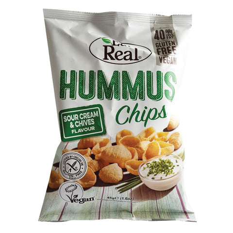 Hummus Chips - Sour Cream & Chives (80g)