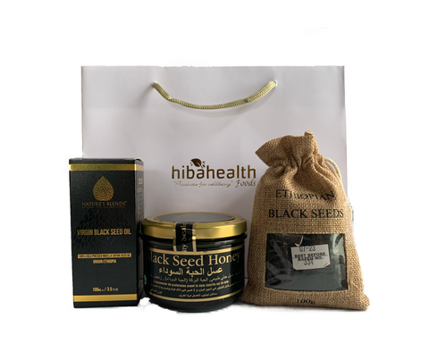Black (Nigella Sativa) Seed Gift Set