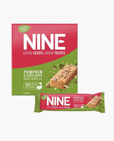 NINE Bar Multipack - Pumpkin & Sunflower (4 Bars)
