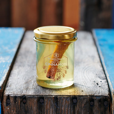 Pure Honey with Cinnamon - 250g