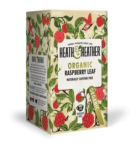 Organic Raspberry Leaf Tea - 20 Bags