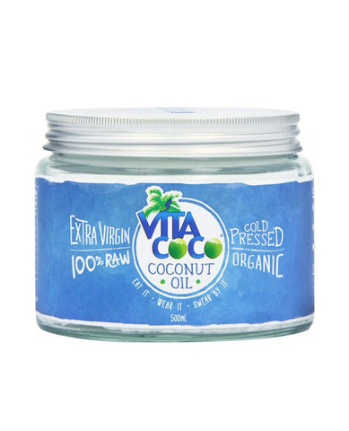Vita Coco Organic Cold Pressed Coconut Oil 500ml