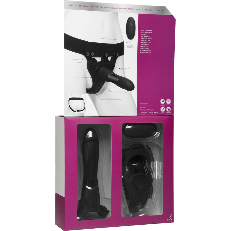 Doc Johnson Body Extensions Be In Charge Black