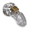 CB 6000 Male Chastity Device - Clear