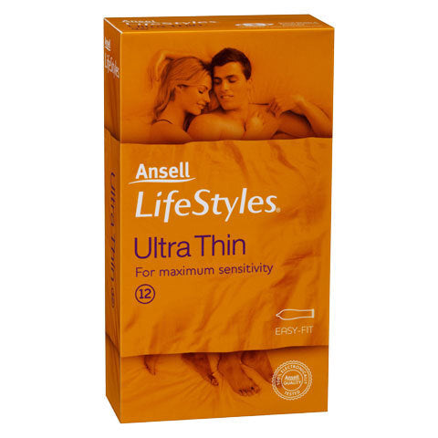 Lifestyles Ultra Thin Condoms 12 Pack