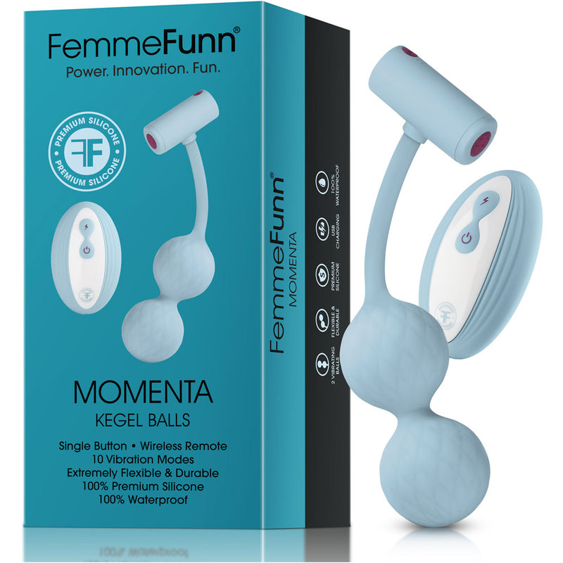FemmeFunn Momenta Kegel Balls - Light Blue
