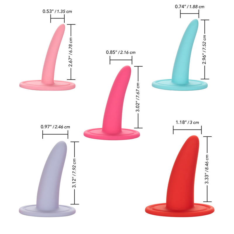 Calexotics She-Ology 5-piece Wearable Vaginal Dilator Set