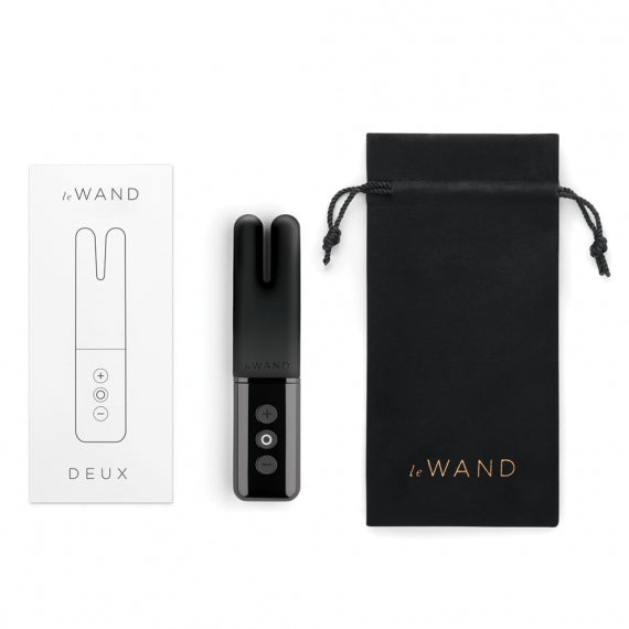Le Wand Chrome Deux Vibrator - Black