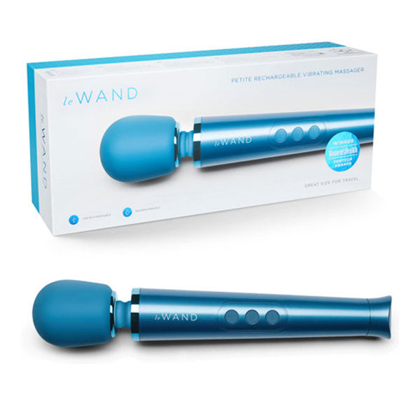 Le Wand Petite Blue Rechargeable Massager