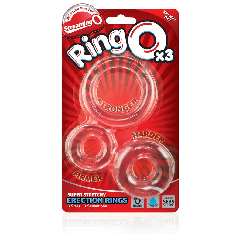 Screaming O Ring O X3 - Black