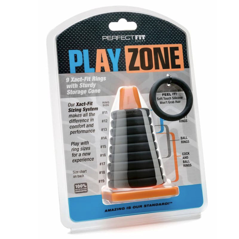 Perfect Fit Play Zone Cock Ring Kit