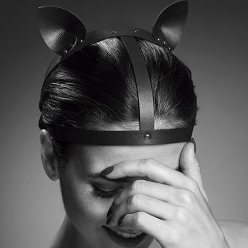 Bijoux Indiscrets Cat Ears Head Piece Black