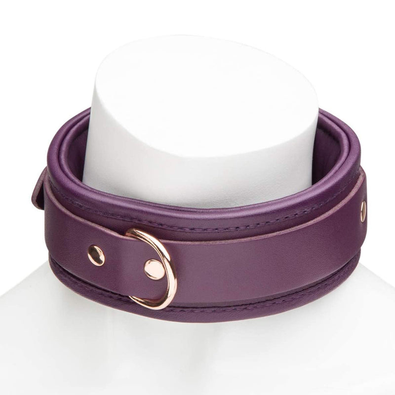 Fifty Shades Cherished Collection Leather Collar and Lead