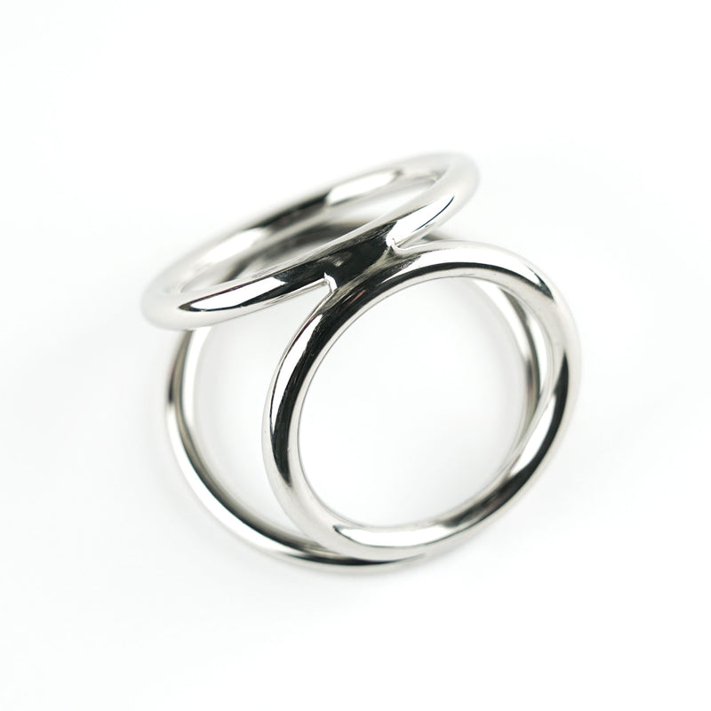 S(A)X Tri Ring Chrome Large