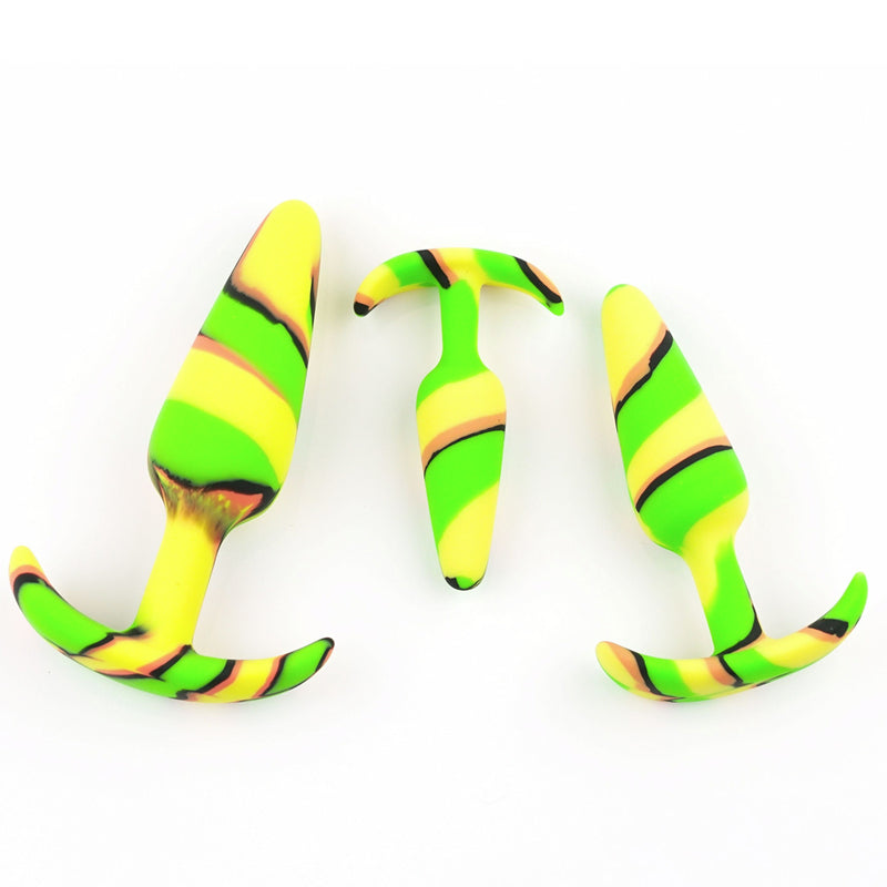 Colourful Camo Anal Kit Yellow