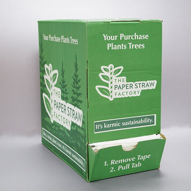Wrapped Jumbo Paper Straws - 25-box Pallet