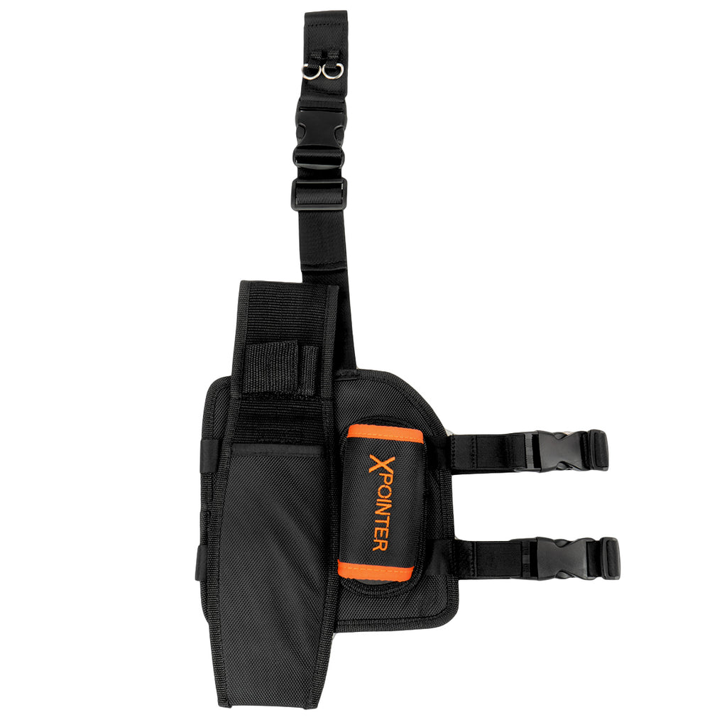 Quest Drop Leg Pouch & Holster for Pinpointer Detector and Tools | Quest Piernera Drop Leg para Pinpointer y Herramientas
