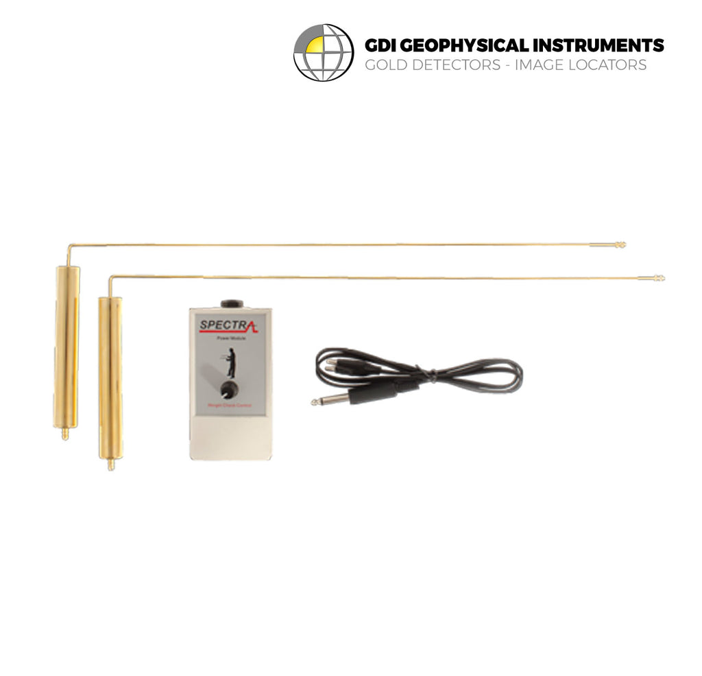Gold Dowsing L Rods | Localizador de Tesoros Omnidirectional Modelo Gold Dowsing L Rods
