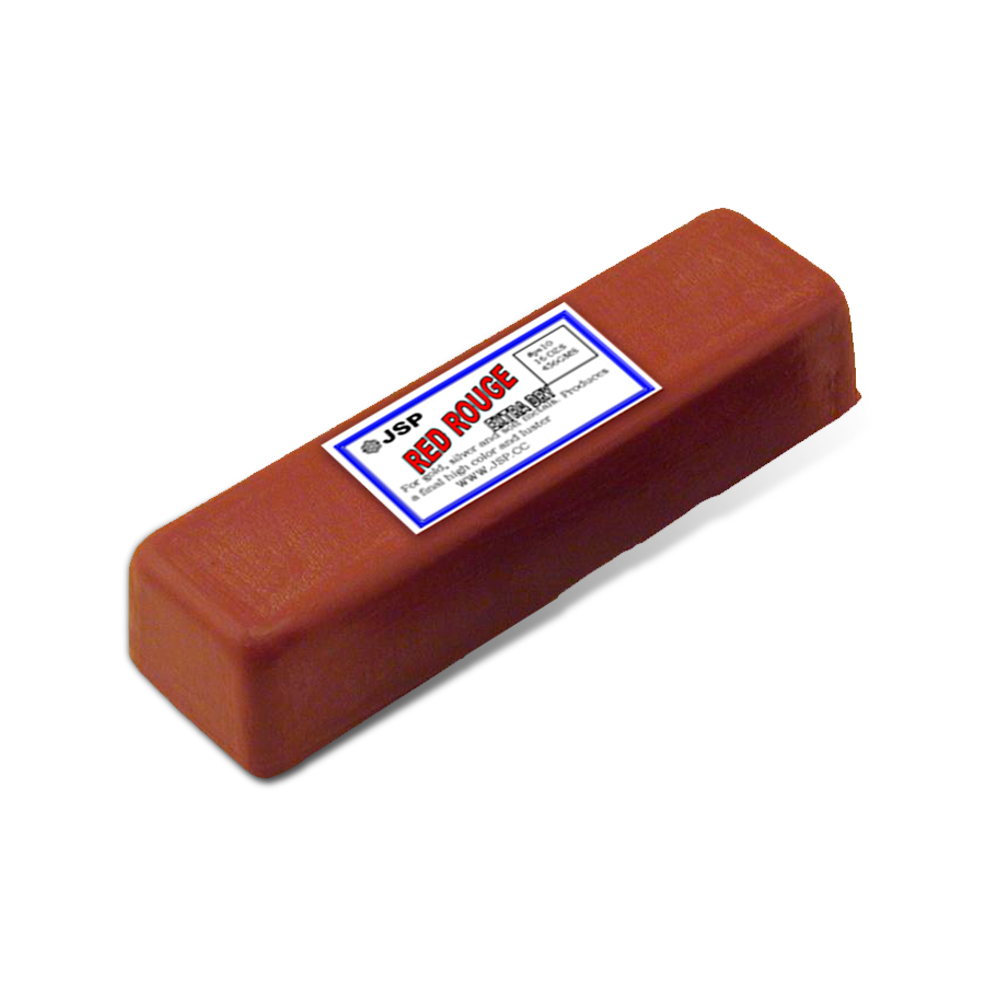 Red Rouge Polishing Bar for Metals|Pulidor de Metales Red Rouge