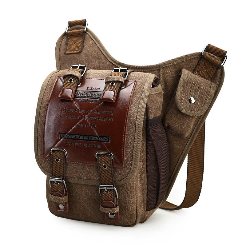 Canvas Bag Men's Shoulder