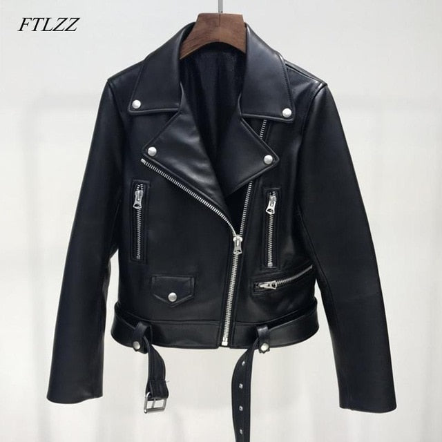 Women Leather Jacket Woman