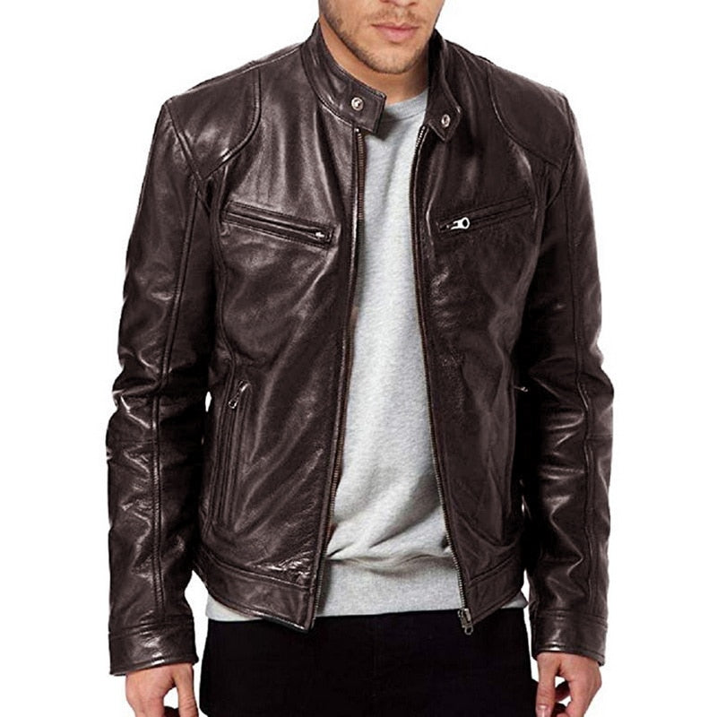 Men Jacket Leather