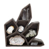 Large Crystal Shaped Display Curio
