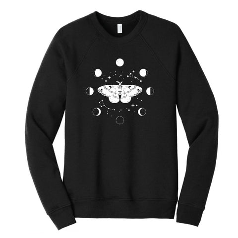 Moth and Moons Sweatshirt